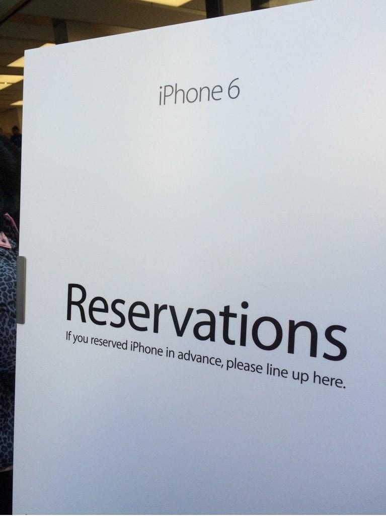 Did you reserve your iPhone 6? Laurie A. Duncan did!