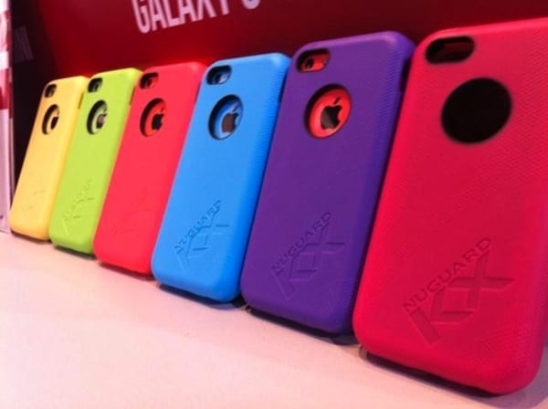 The KX for iPhone 5c offers a rainbow of color choices along with x-treme protection.