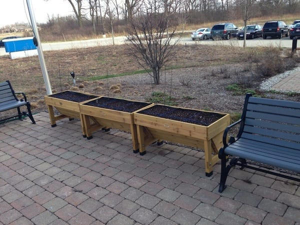 """The OWC """"snack garden"""" will provide healthy snacks for OWC's all-purpose room."""