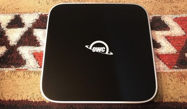 The OWC miniStack External Hard Drive