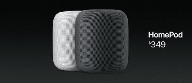 The Apple HomePod Smart Speaker