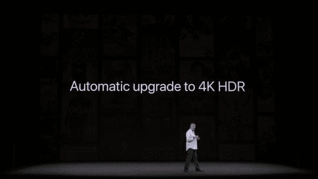 Existing purchased HD content will be upgraded to 4K HDR at no cost