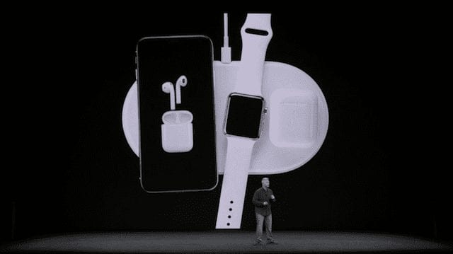 The Apple AirPower charging pad, available next year