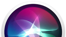 macOS High Sierra Siri icon