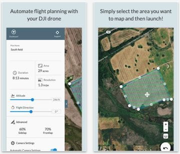 For automating aerial mapping, DroneDeploy is the way to go