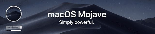 (Mojave page in the Mac App Store)