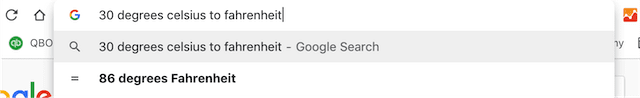 (Results of a search can now appear in the omnibox or below instead of opening a new window)