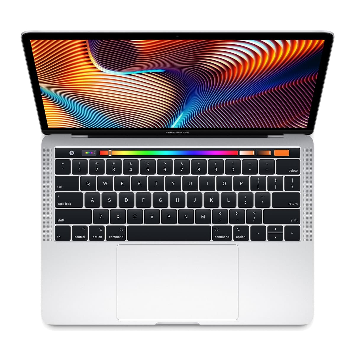 The entry-level 13-inch MacBook Pro features new, more powerful quad-core processors, Touch Bar, Touch ID and more