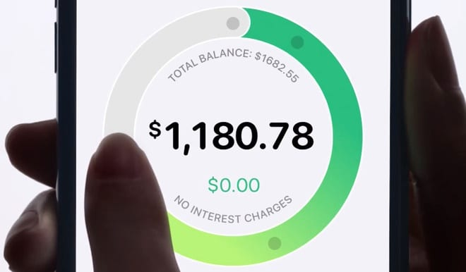 The Apple Card shows you what you can pay to avoid interest charges, and also estimates your interest payments if you need to carry over a balance.