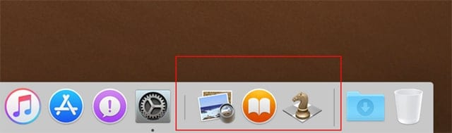 A new section of the Dock is reserved for displaying up to three recently used apps