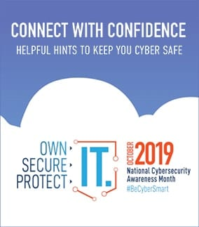 Cyber Security Month, October 2019