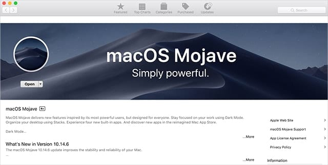 macOS installers can be downloaded from the Mac App Store.