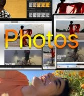 macOS Photos collage of images