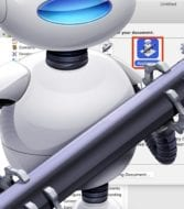 macOS Automator icon with Automator Application selector