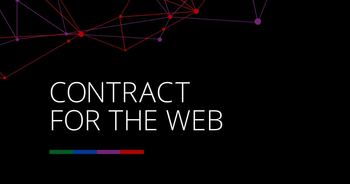 Contract for the web logo banner