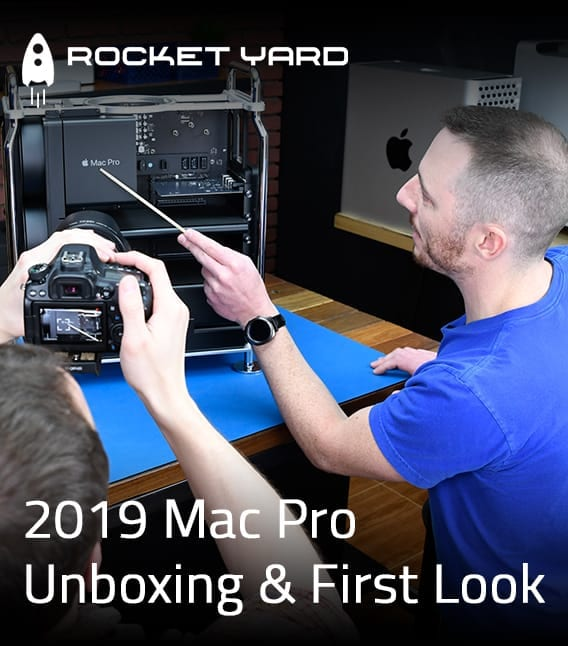 2019 Mac Pro Unboxing & First Look