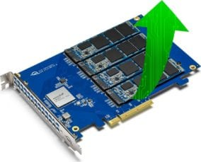 Accelsior 4M2 offers the fastest data rates ever delivered by an OWC SSD.
