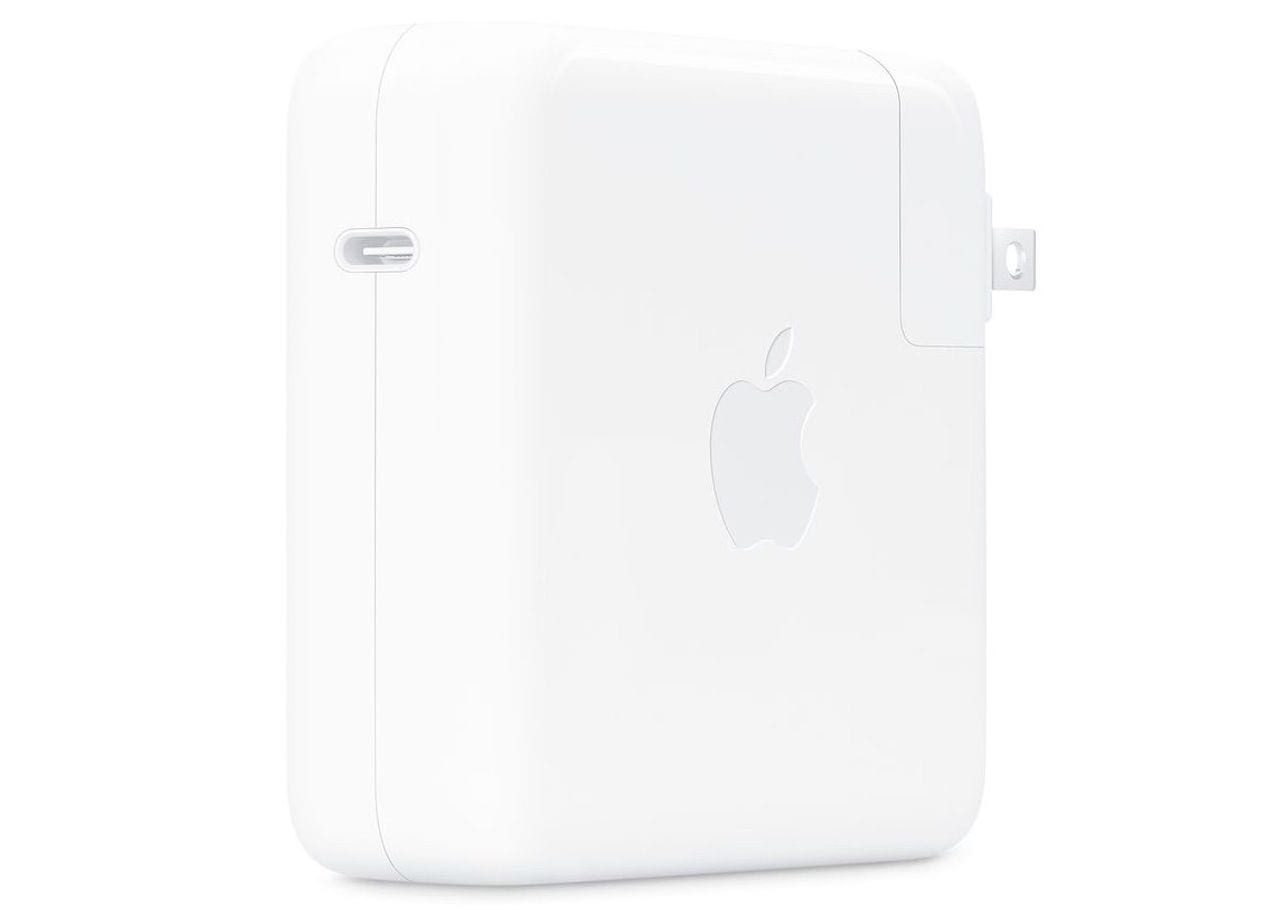 Apple 96W USB-C Power Adapter. Image via Apple.