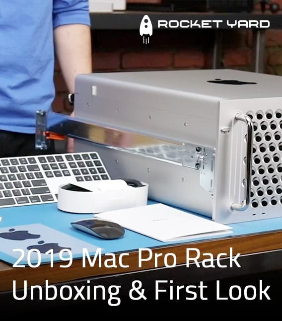 Unboxing and First Look at the 2019 Mac Pro Rack