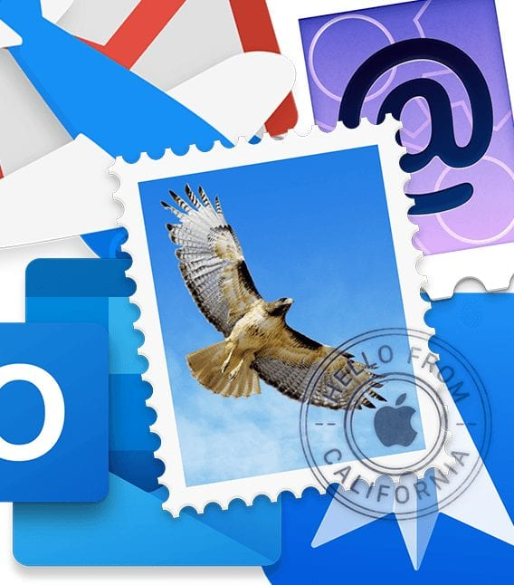 collection of mac mail app icons