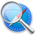 Safari Icon overlayed with a serach icon