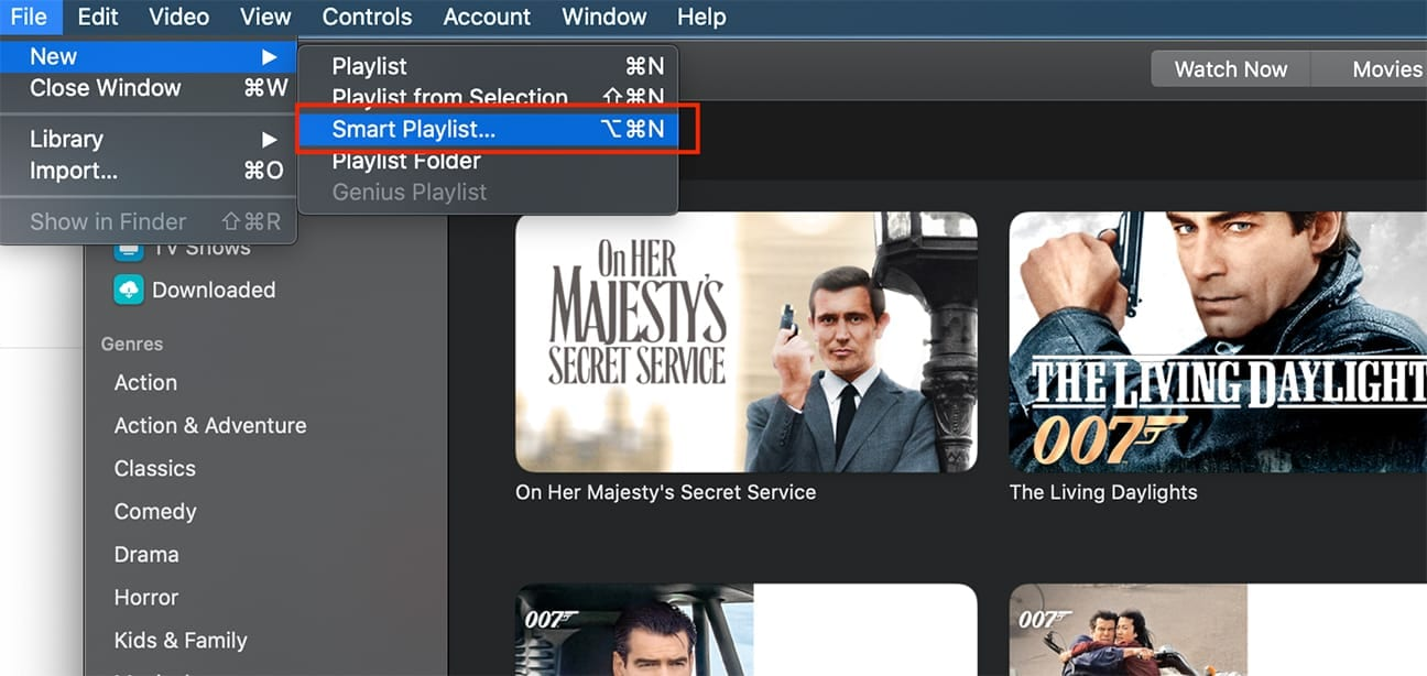 How to Group Movies Together in the Apple TV App on a Mac