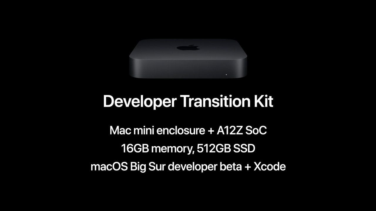 The Mac mini-based DTK