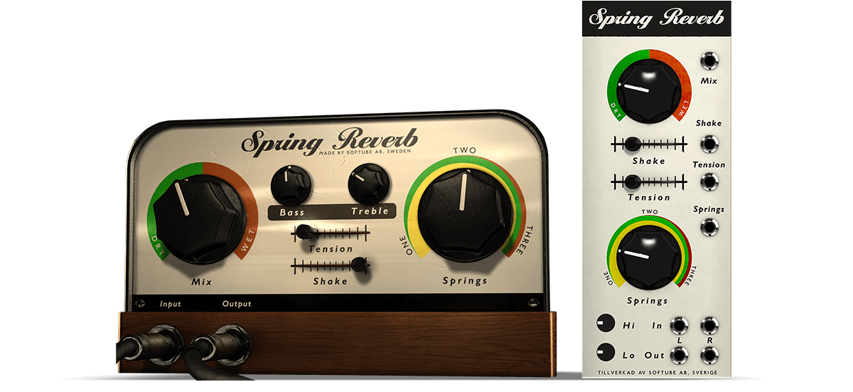 Spring reverb by softube