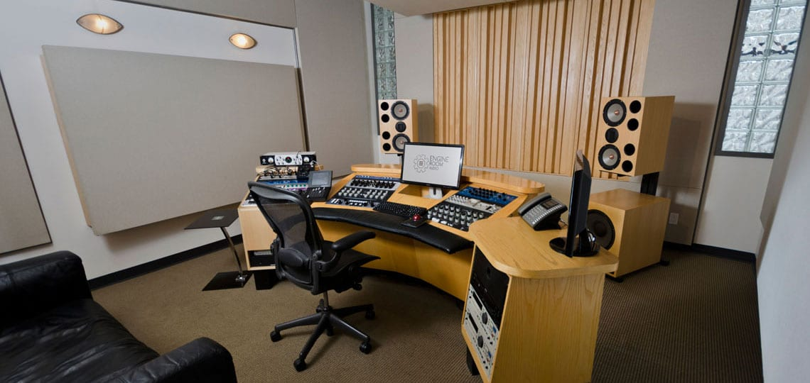 The Mastering Suite at Engine Room Audio