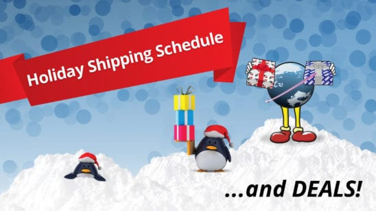 OWC macsales holiday shipping schedule and deals