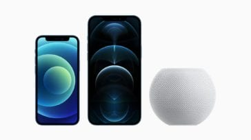 iPhone 12 mini, iPhone Pro Max, HomePod mini