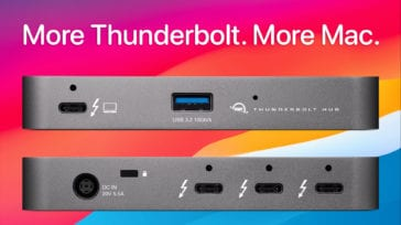 More Thunderbolt. More Mac.