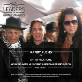 Randy Fuchs from Artist Relations on OWC's Leaders and Game Changers podcast
