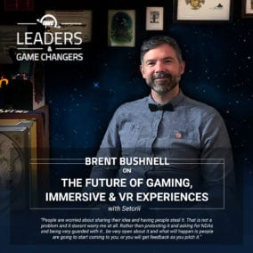 Brent Bushnell on OWC's Leaders & Game Changers
