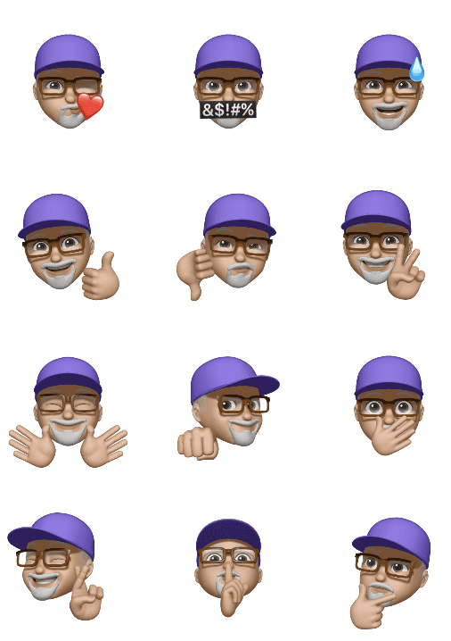 Memoji Stickers make their debut in macOS Big Sur