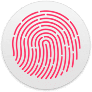 macOS Touch ID Preference Icon