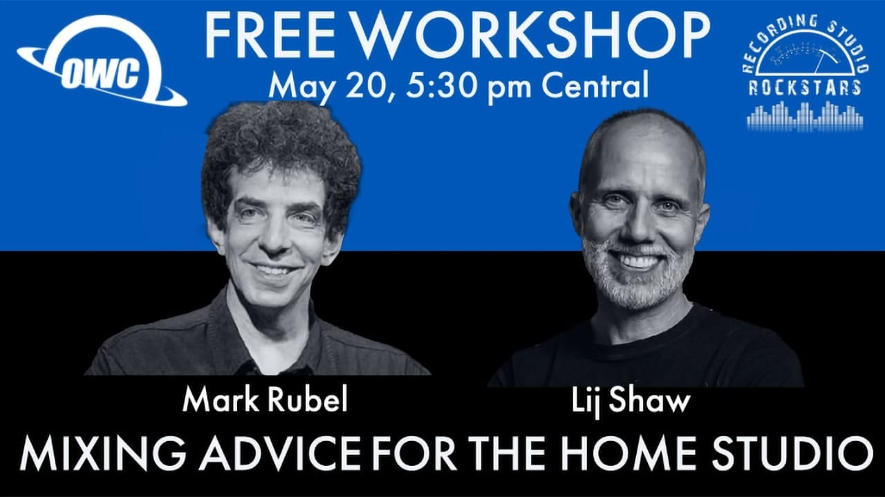 Mixing advice workshop from Lij Shaw and Mrk Rubel