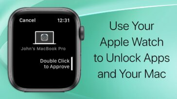Use Your apple watch to authenticate your mac