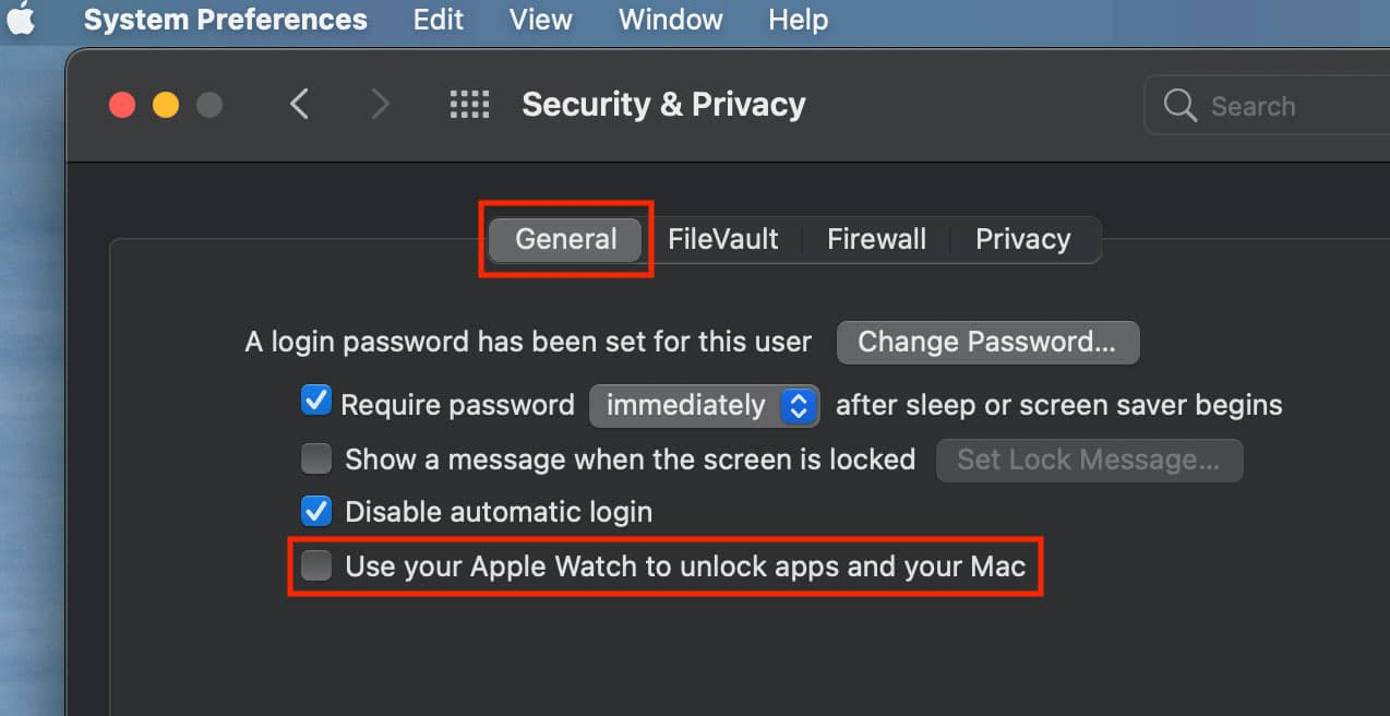 Use your apple watch to unlock apps and your mac