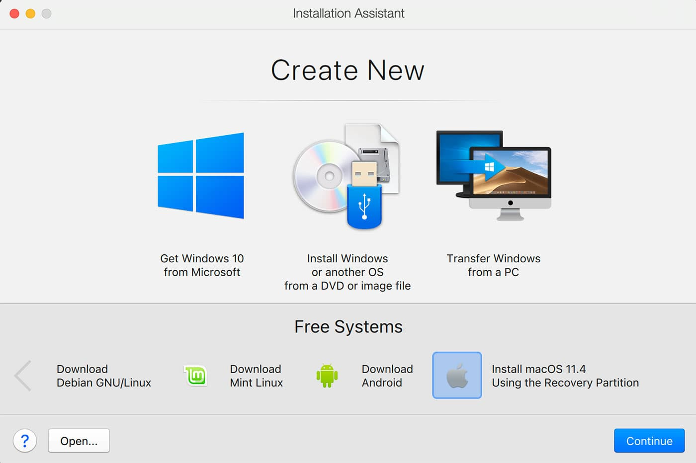 Parallels Desktop Free Systems