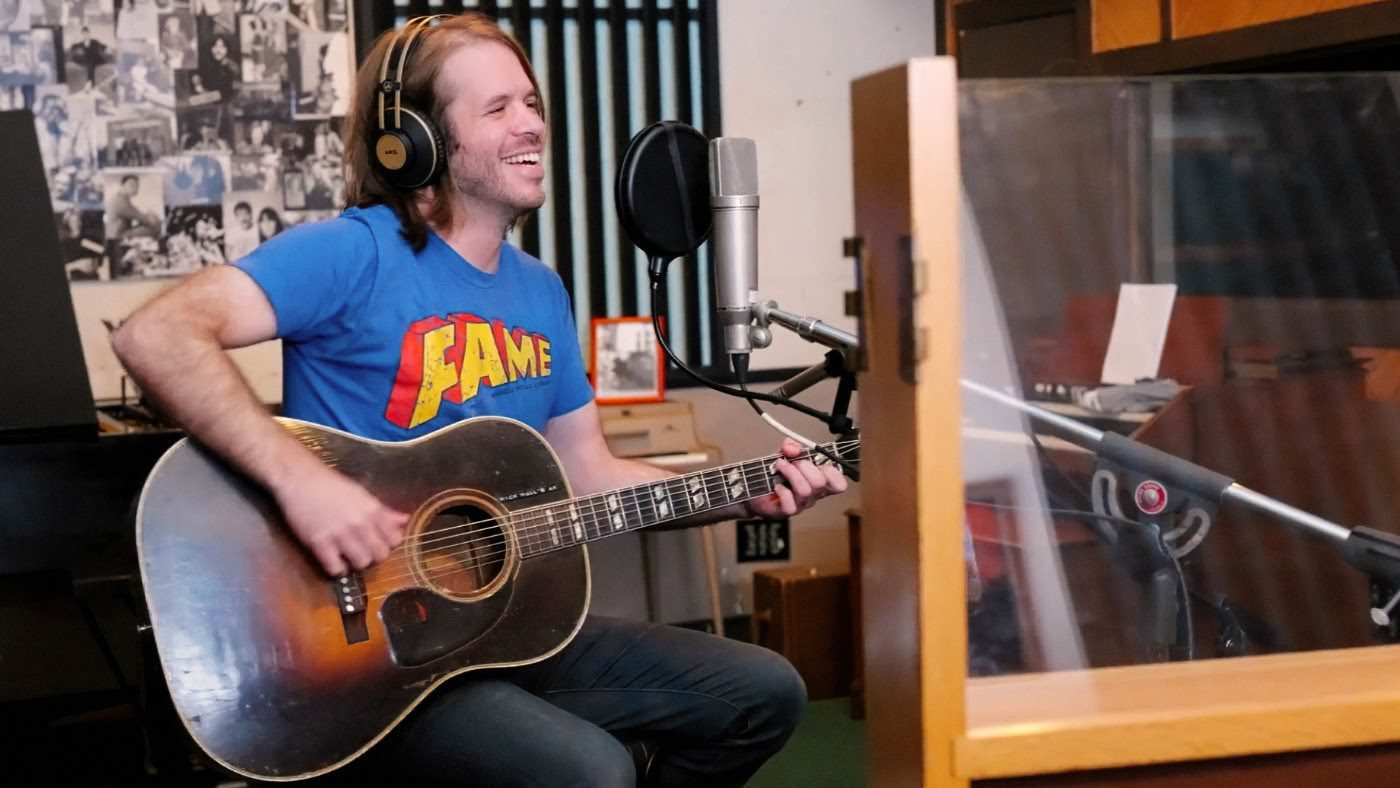Recording session with Wes Sheffield