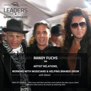 Randy Fuchs on OWC's Leaders & Game Changers